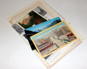 Montana - United States Vintage Travel Collage Kit