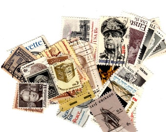 40 Neutral United States Postage Stamps