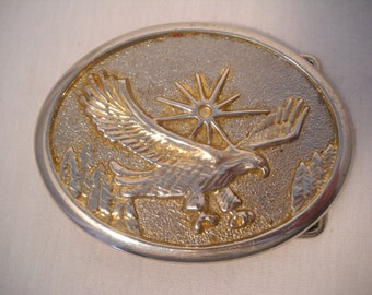 Vintage Eagle Belt Buckle Mens Accessories