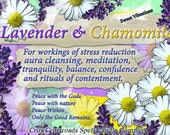 Lavender and Chamomile Natural Blend Soy Tea Lights - 9  for Spellcasting, Magick, Meditation and Ritual