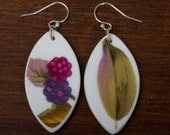 Summer Fruit Earrings - Recycled China - Material and Movement