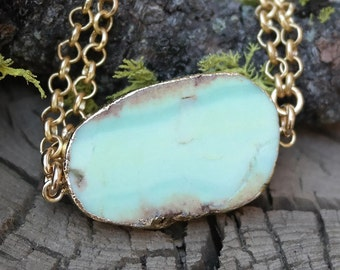 One of a Kind Chrysoprase Body Chain
