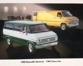 1982 Chevy Van and Beauville Sportvan Chevy is Power in Trucks