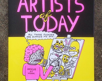 Artists of Today Comic Book