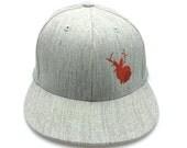 Men's Hat - Jackalope - Men's Pro-Fit Flexfit Hat - All Sizes Available