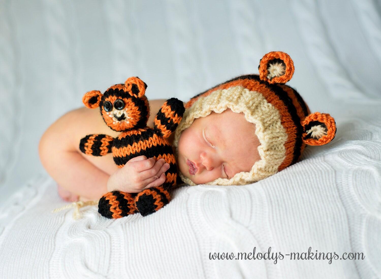Knitting Pattern Newborn Photo Prop Pattern Knit Animal