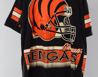 Items i love by cale on etsy for Vintage bengals t shirts