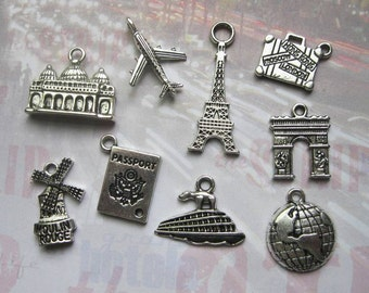 Travel the World Charm Collection - C2167