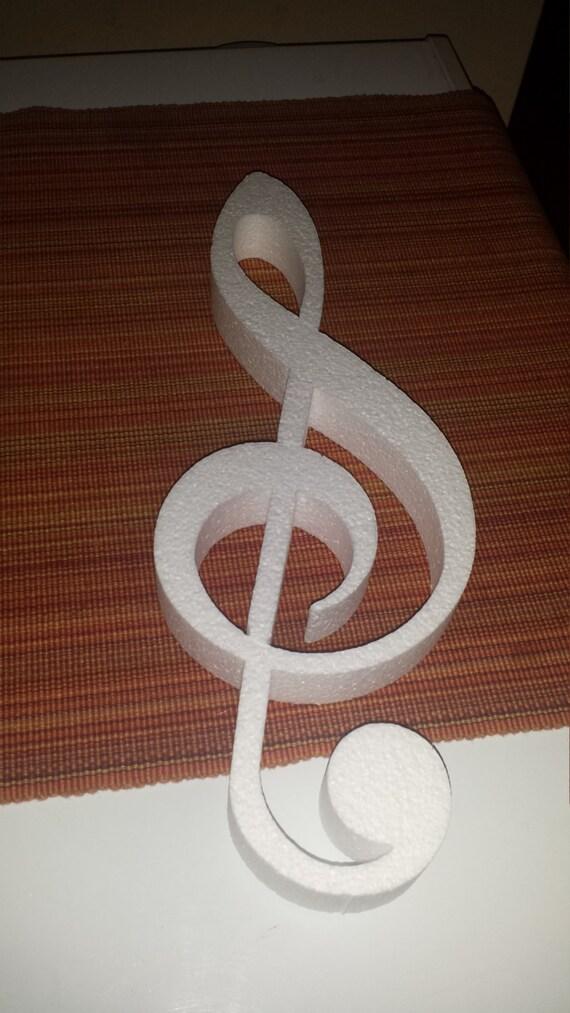 Items similar to STYROFOAM musical note individual shapes ...