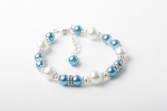 bracelet de bouqueti re bracelet de perles pour demoiselles. Black Bedroom Furniture Sets. Home Design Ideas