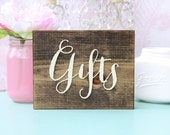 Gifts Sign Rustic Wedding Gifts Sign Wood Gifts Plaque Gift Table Sign Gifts Plaque Barn Wedding Sign Rustic Wood Gift Sign