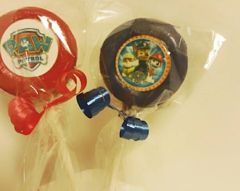 12 paw patrol chocolate covered oreos with edible images paw patrol party favors