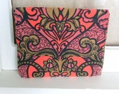 Padded Tablet Case / iPad Case / 8 x 10 Tablet Case / Swoon Patterns Dakota
