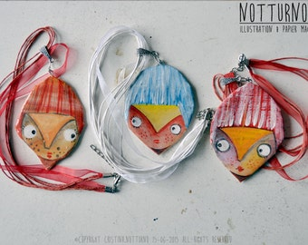 Necklace Paper Mache