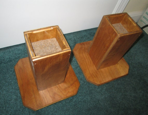 Furniture risers inch all wood construction sleek