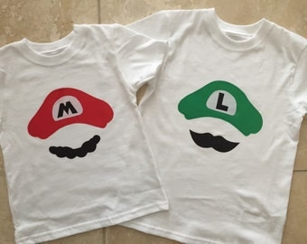 Mario Bros. Mario OR Luigi shirt