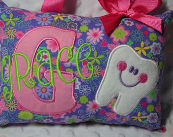 Tooth Fairy Pillow for Girls - Personalized