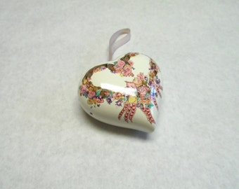 Romantic Pomander Sachet Potpourri Heart Lingerie Drawer Freshner Rose.