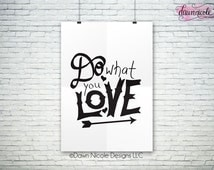 1825+ Do What You Love Svg for Cricut