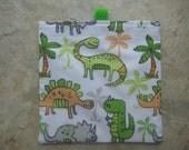 One Dinosaur - Reusable Snack/Sandwich Bag with tabs