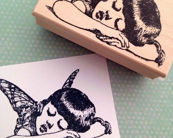 Fairy Rubber Stamp 4386