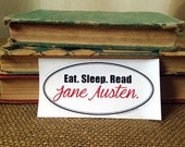 Jane Austen Pride and Prejudice Sticker - LS004