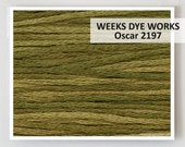 OSCAR 2197 Weeks Dye Works WDW hand-dyed embroidery floss cross stitch thread at thecottageneedle.com CONES available