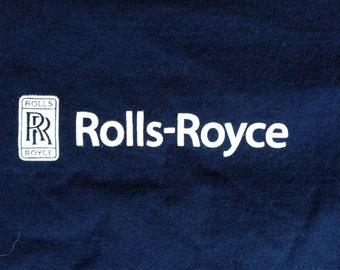 Vintage Rolls Royce t shirt USA L