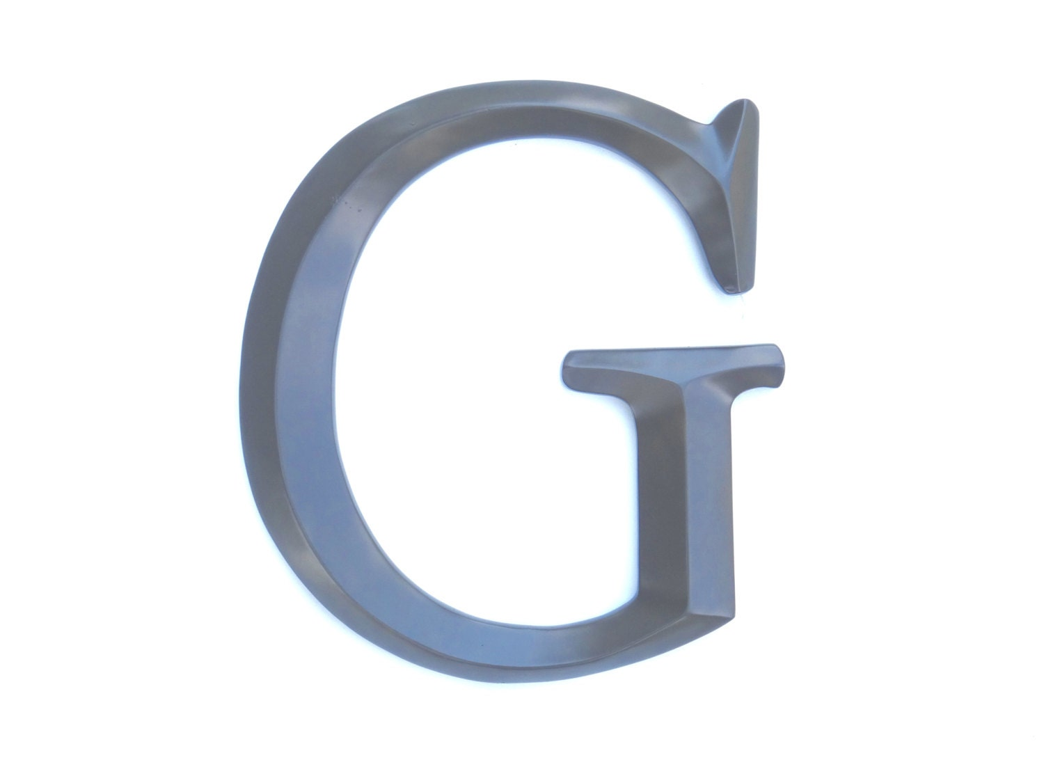 Letter g sign large letter g wall decor for Letter g wall decor