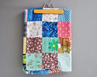 Mid-Century Patchwork Quilt Top
