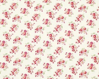 Rosey Cherry Blossom in Ivory by Tanya Whelan