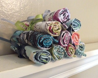 Bridesmaid Jewelry Roll for Party of 10