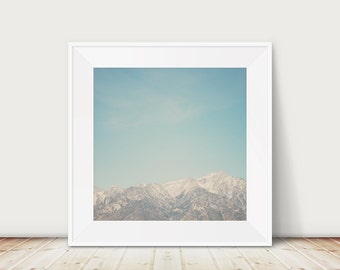 mountains photograph Sierra Nevadas photograph California photograph Mount Whitney print Manzanar photograph mountains print