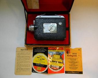 CAMERA, Vintage Cine-Kodak Magazine 8 Movie Camera with Box