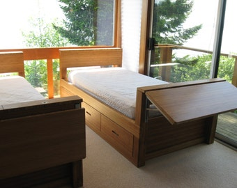 Bamboo Twin Bed