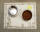 Dog Placemat or Feeding Mat