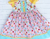 2T Let's Cook Peasant Dress for Girls