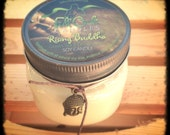 Greentea/Lemongrass Scented Soy Wax Candle - 8oz Jar Scented Candle