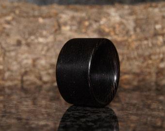 Wenge wood ring - Any  size