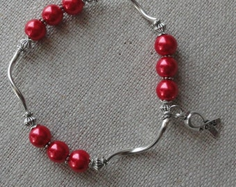 015 Heart Disease/Stroke Awareness Bracelet