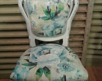 Boudoir chair in Laura Ashley ' Francesca'