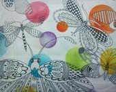 Flight Patterns by Tamara Kate, fat quarter, pure cotton fabric