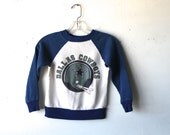 vintage KIDS dallas COWBOY nfl FOOTBALL two tone sweatshirt