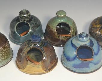 Salt Cellar, salt storage, gourmet salt, handmade pottery, Salt shaker
