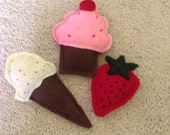 The Sweets Collection, Cat Nip Felt Toys.