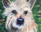 "Custom 6"" x 6"" Pet Portrait by LaPine Design - Acrylic on Gallery Wrapped Canvas"