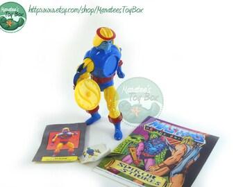 He Man Action Figure: Sy Klone MOTU 80s Toy Mattel