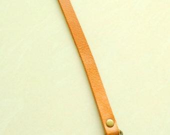 One Pair genuine Leather purse , bag handles