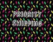 Shipping Upgrade - Priority Shipping via USPS Domestic