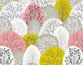 First Light - Spring Woodland Pink by Eloise Renouf from Cloud9 Fabrics
